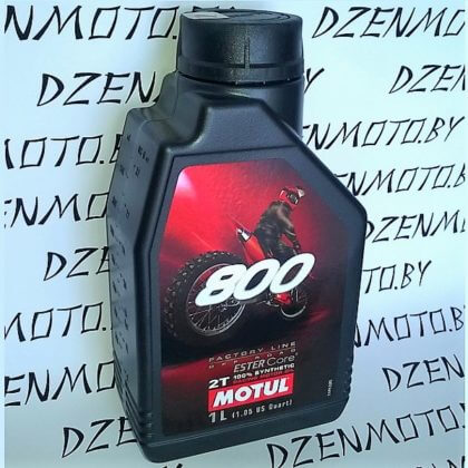 Масло Motul 800 2T FACTORY LINE OFF ROAD моторное для мотоциклов 104038