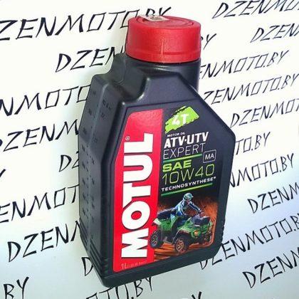 Масло Motul ATV-UTV Expert 4T 10W40 1л полусинтетическое моторное для квадроциклов 105938